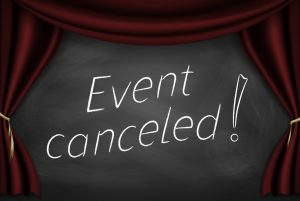 Coastal Water Suppliers Tradeshow Cancelled